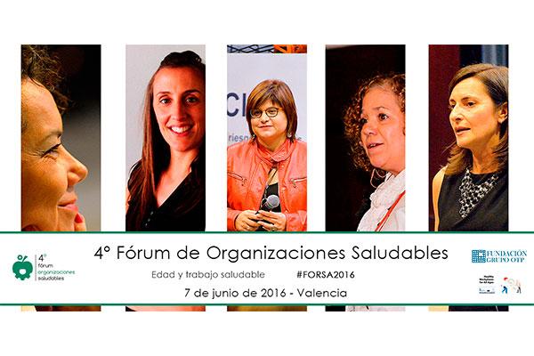 El 4º Fórum de Organizaciones Saludables podrá verse por streaming