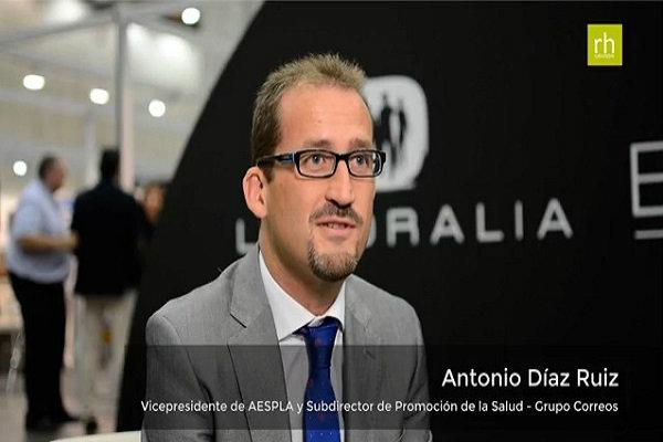 """Antonio Díaz Ruiz: """"Nuestro reto es afrontar la salud y el envejecimiento de la población trabajadora"""""""